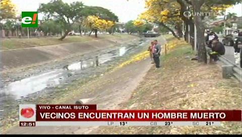 Santa Cruz: Hallan el cuerpo de una persona en el canal Isuto