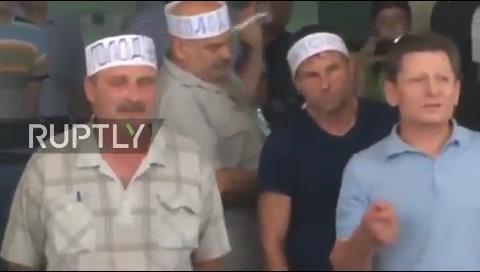 Un minero ucraniano se inmola ante las cámaras de televisión por el impago de salarios