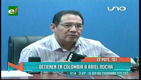 Fiscal General confirma que ya se tramita la extradición de Ariel Rocha