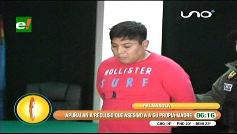 Palmasola: Apuñalan a recluso que asesinó a su propia madre