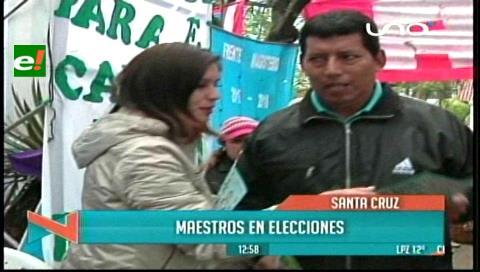 Santa Cruz: Maestros van a las urnas para elegir a su dirigencia