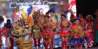 Autoridades presentan el carnaval de Oruro 2017