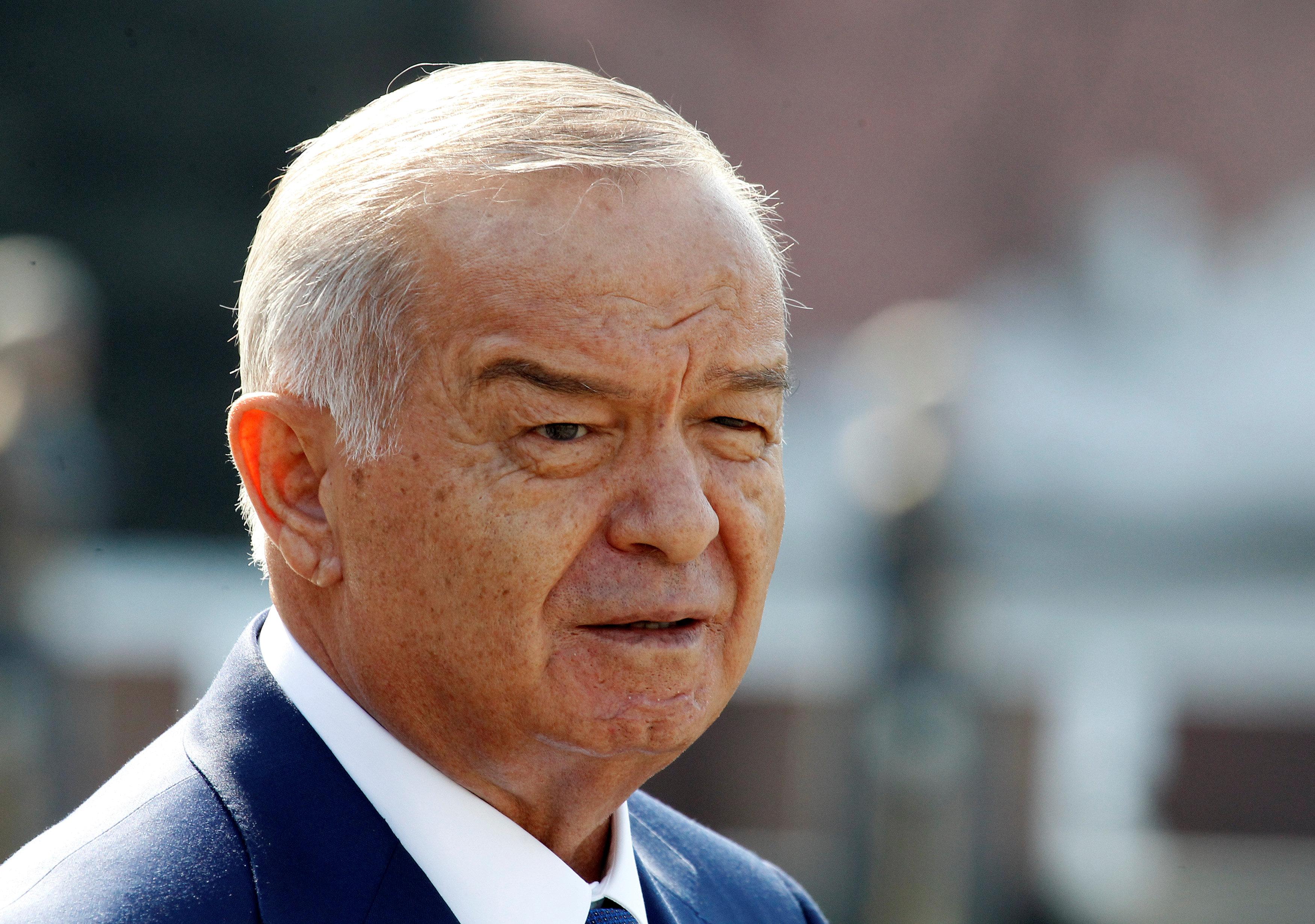 Foto de archivo del presidente de Uzbekistán, Islam Karimov. REUTERS
