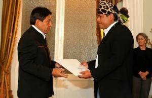 Exembajador de Bolivia se refugia en Chile y dice que Evo sabía de la corrupción en el Fondioc