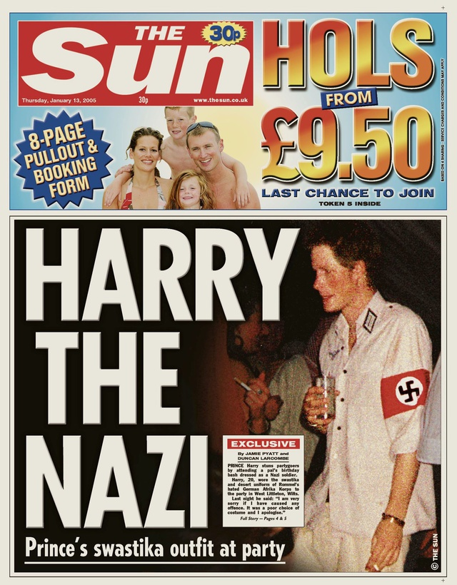La portada que atragantó el café a toda Inglaterra.