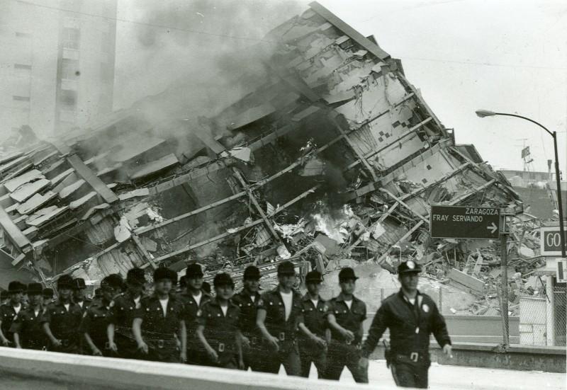 La primer orden del ex presidente Miguel de la Madrid después del terremoto fue el despliegue del ejército