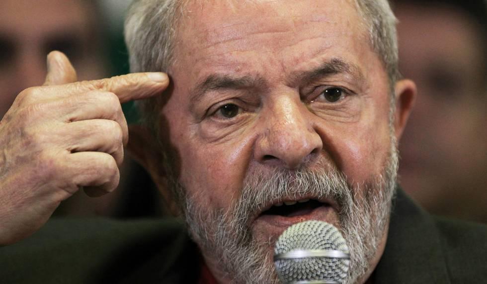 Lula da Silva, en una rueda de prensa el 15 de septiembre.