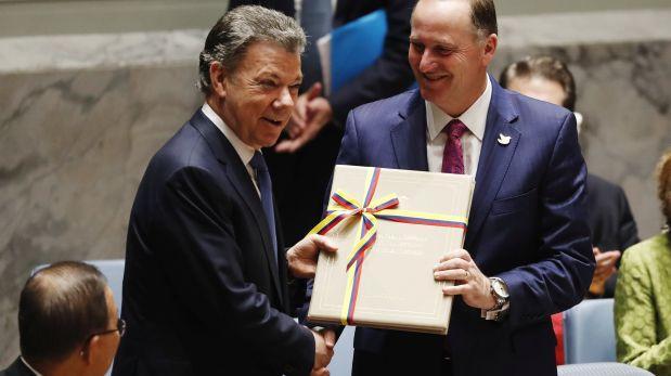 Santos ante la ONU: La guerra en Colombia ha terminado