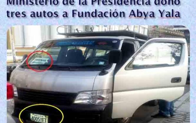 Canal Abya Yala niega vinculación con Evo Morales y está dispuesto a devolver tres vagonetas