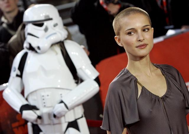 Natalie Portman, en el estreno de