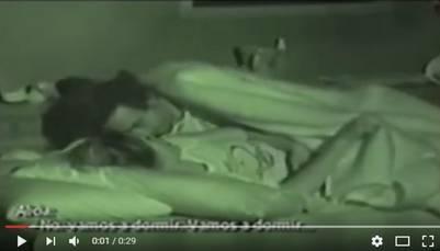 Captura del video que Donald Trump alienta a ver y que tiene como protagonista a la ex Miss Universo Alicia Machado, en un reality show español de 2005. / YouTube