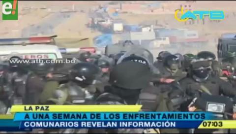 Revelan que la Policía se replegó luego de enterarse de la muerte de un minero