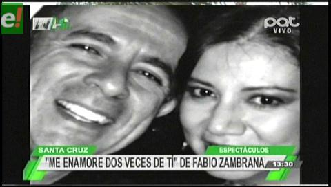 Fabio Zambrana sobre la enfermedad de su esposa: Dios tiene algo maravilloso para nosotros después de esto