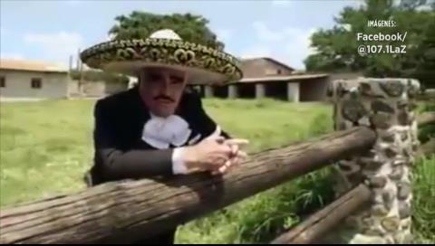 Vicente Fernández se suma a la campaña de Hillary Clinton con un corrido