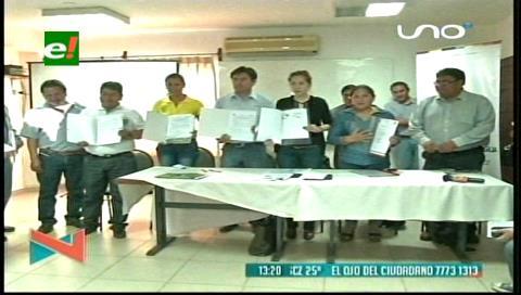 Firman convenios para la forestación de las riberas de los ríos