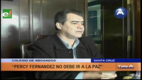 Colegio de Abogados: Percy no debe ir a La Paz a dar informe oral a la ALP
