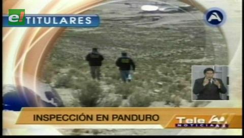 Titulares de TV: Policía inspeccionó los lugares donde el viceministro Illanes fue secuestrado y asesinado