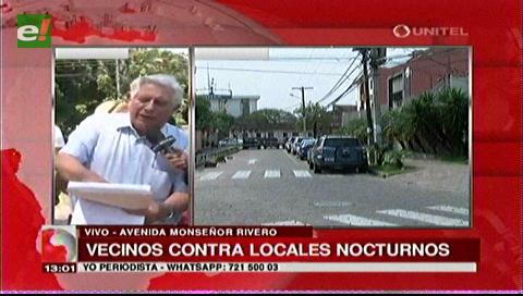 Oposición vecinal contra boliches en la Monseñor