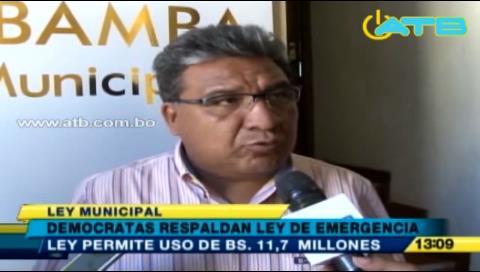 Cochabamba: Denuncian que plan de emergencia contra sequía fue aprobado ilegalmente