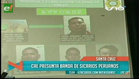Desarticulan supuesta banda de sicarios peruanos