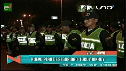 Policía pone en marcha plan Tukuy Rikhuy