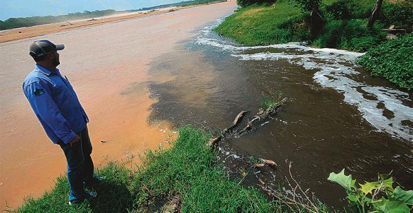 En la ciudad, el Searpi identificó las descargas de Saguapac dentro de sus puntos observados