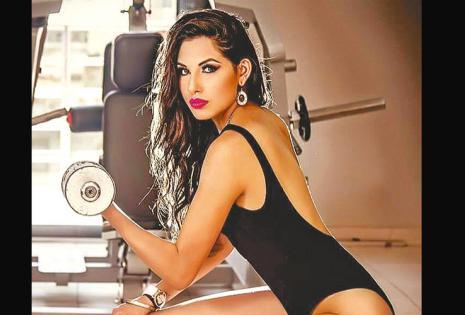 /Modelo. Mishel Lahore, De Cochabamba, desfilará muy sensual para Danithza Vargas, Galo Sánchez Y Eduardo Gumucio