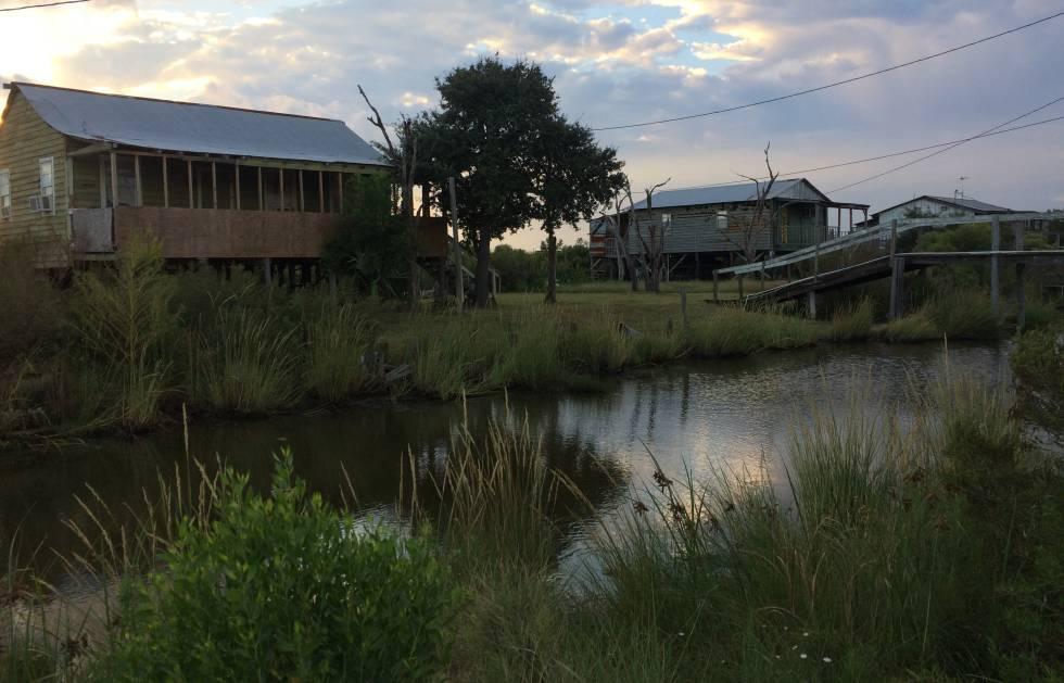 Casas en Isla de Jean Charles