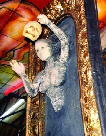 Pomba Gira, la imagen adorada en el Katanas