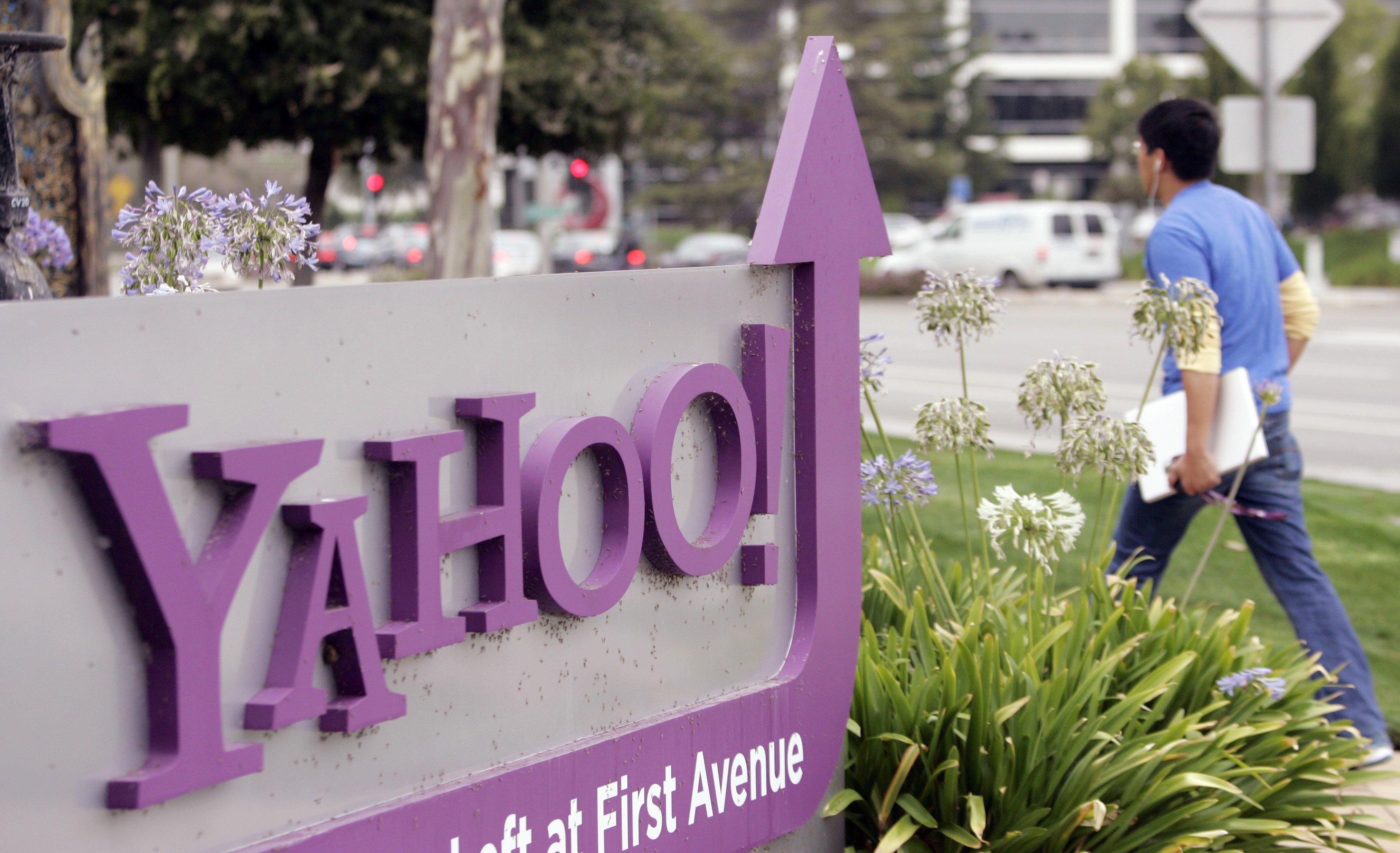 Foto: La sede de Yahoo en Sunnyvale, California / Archivo