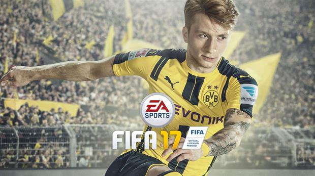 Marco Reus, volante ofensivo del Borussia Dortmund es el protagonista del nuevo FIFA 17