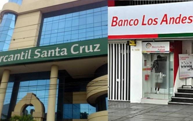 El Banco Mercantil inició el proceso de absorción del Banco Los Andes