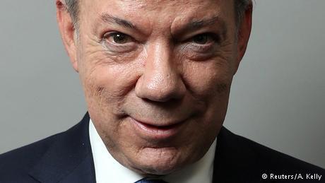 Kolumbien Juan Manuel Santos (Reuters/A. Kelly)