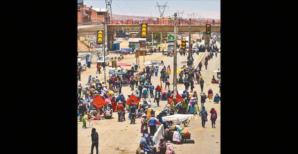 Los bloqueos podrían llegar a perjudicar a miles de personas que circulan al interior del país
