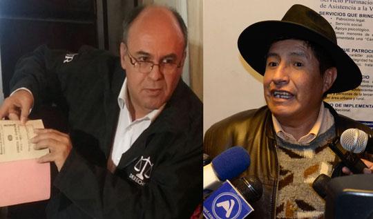 Ministro Ferreira amenaza con un juicio a diputado Quispe
