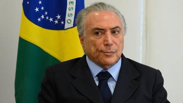 Optimista. El presidente brasileño, Michel Temer, confía en que su propuesta de ajuste fiscal tendrá el visto bueno del Parlamento. /AFP