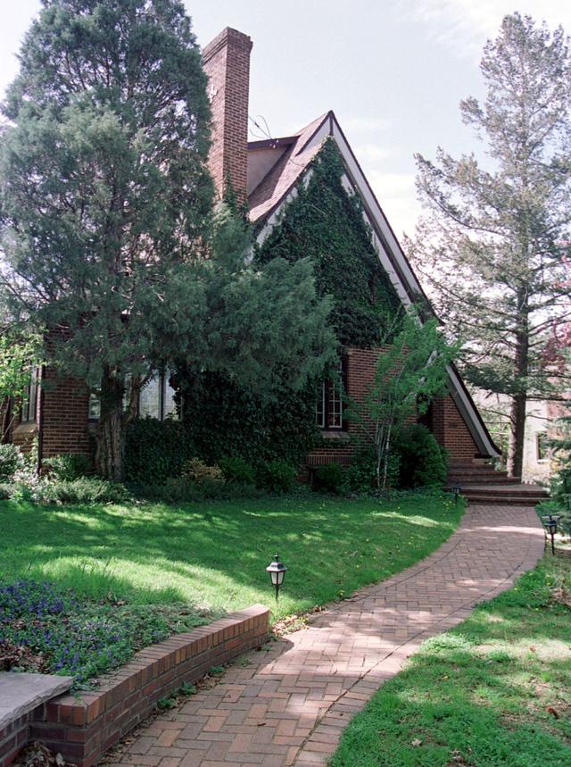 Panorámica de la casa de los Ramsey en Boulder, Colorado, tomada en 2001.