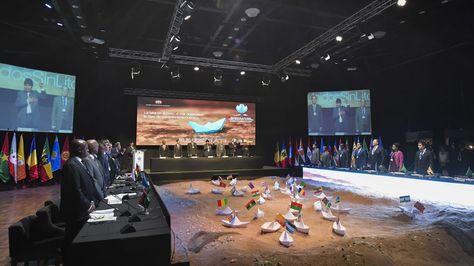 Inauguración de la Reunión sobre Transporte Sostenible de Países en Desarrollo sin Litoral