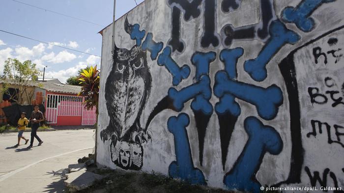 Un grafiti de los las