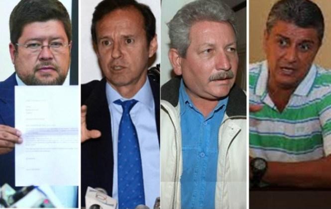Fiscales acusan a Doria, Quiroga, Suárez y Costas y oposición denuncia persecución