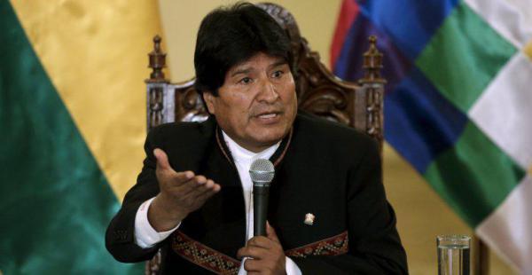 """Evo Morales llamó """"conspiración"""" al movimiento de los cooperativistas"""