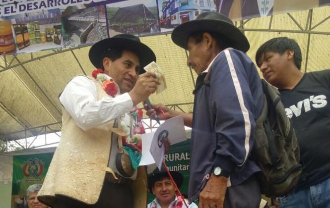 Seguro agrario beneficia a 1.504 familias del municipio de Aiquile