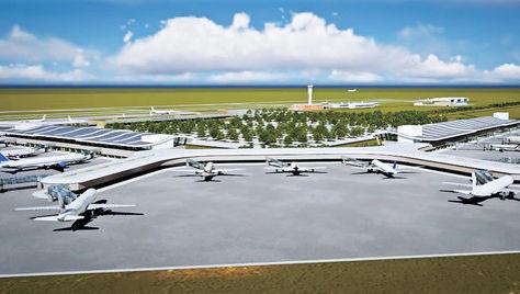 Las imágenes 3D muestran cómo quedará el nuevo Aeropuerto Intercontinental de Viru Viru. Ministerio de Obras Públicas.