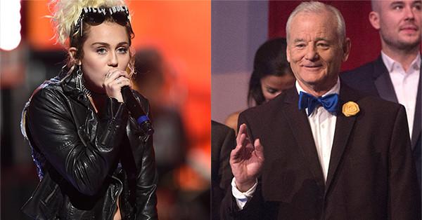 Miley Cyrus, Bill Murray