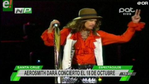 Aerosmith. Detalles previos al concierto