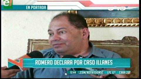 Titulares de TV: Ministro de Gobierno declara como testigo del caso Illanes