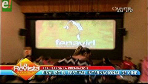 Finalizó el Festival Internacional de Cine 2016