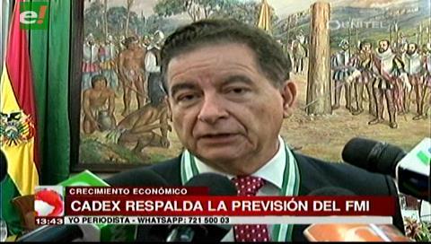 Doble aguinaldo: Cadex pide al Gobierno considerar el informe del FMI