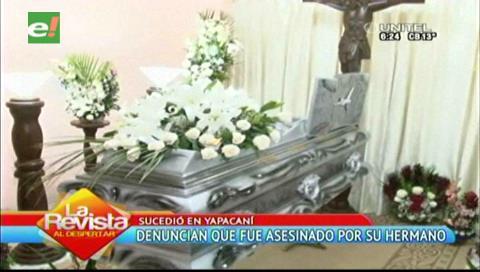 Un sujeto mata de un disparo a su hermano en Yapacaní