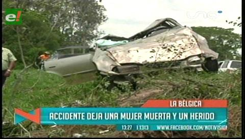 Accidente de tránsito en Colpa Bélgica deja una mujer fallecida